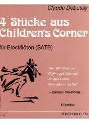 "Four Pieces from ""Children's Corner"" PARTS"