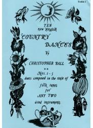 Ten New English Country Dances Nos 1-5