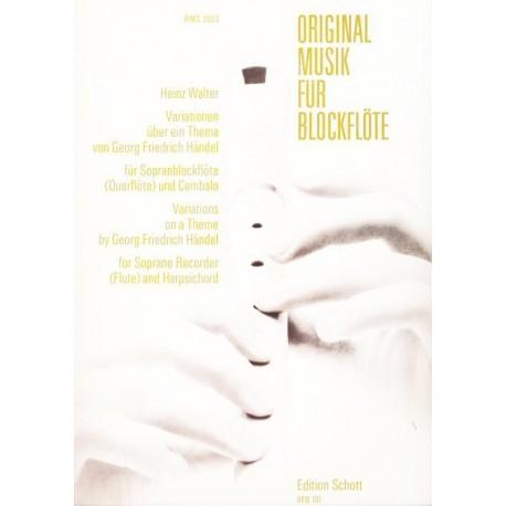 Original Music for Recorder