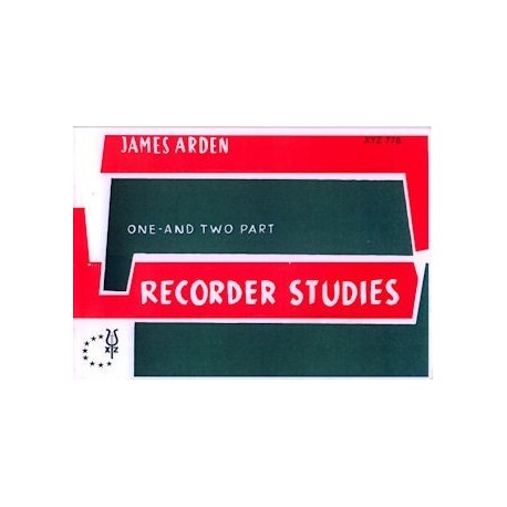 One and Two Part Recorder Studies
