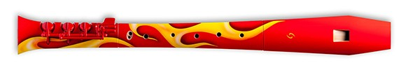 Elody Firebird Treble Recorder