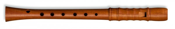 Kynseker Descant Recorder in Plumwood