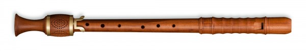 Kynseker Tenor Recorder (with key) in Plumwood