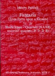 Fantazia Three Parts upon a Ground