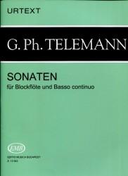 Sonatas for Alto recorder and Basso continuo