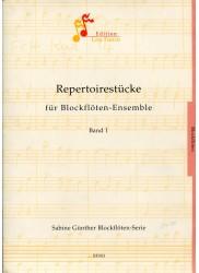 Repertoire Pieces for Recorder Ensemble