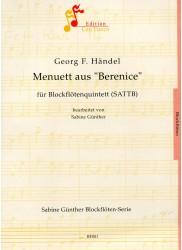 "Minuet from ""Berenice"""
