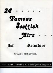 24 Famous Scottish Airs