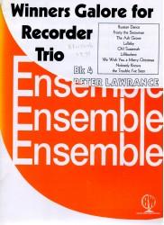 Winners Galore for Recorder Trio