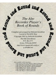 The Alto Recorder Player's Book of Round