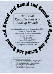 The Tenor Recorder Player's Book of Round