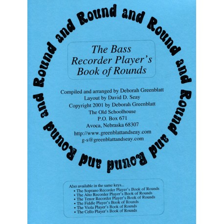 The Bass Recorder Player's Book of Round