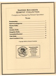 Swedish Recorder Quartet Collection