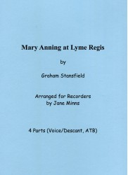 Mary Anning at Lyme Regis