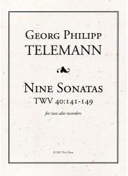 Nine Sonatas Telemann