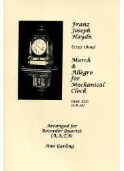 March & Allegro for Mechanical Clock