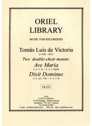 Ave Maria, Dixit Dominus