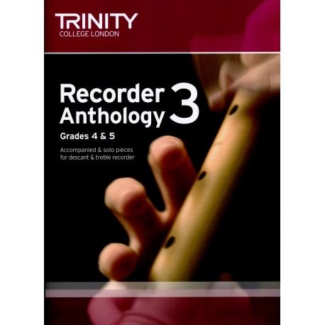 Recorder Anthology 3 Grades 4 &5