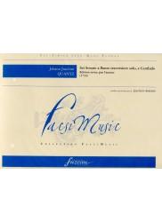 Sei Sonate a Flauto Traversiere solo e Cembalo, 1734