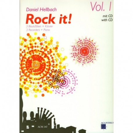 Rock it! Full Score, Parts and CD
