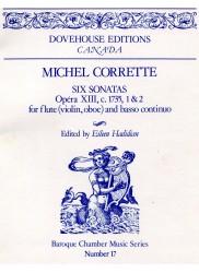 Six Sonatas, Op13, c 1735 Nos 1 & 2