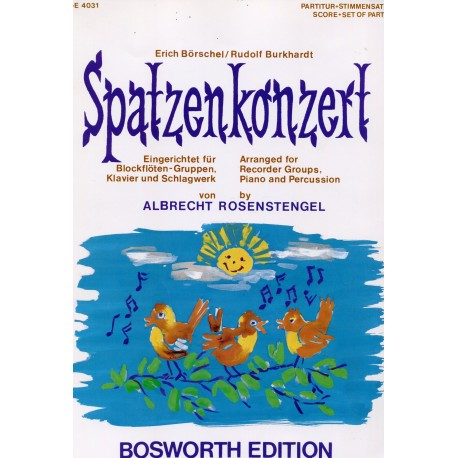 Spatzen Konzert - The Sparrow Concerto