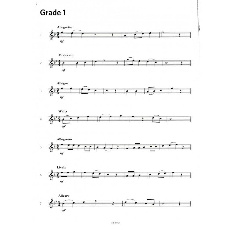 Treble Recorder Sight-Reading Grades 1 -5 ABRSM