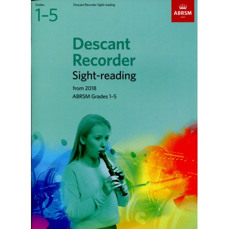 Descant Recorder Sight-Reading Grades 1 -5 ABRSM