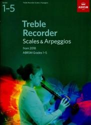 Treble Recorder Scales & Arpeggios Grades 1 -5 ABRSM