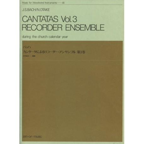 Bach Cantatas Vol. 3 During the Church Calendar Year