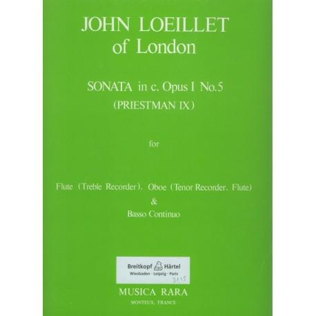 Trio Sonata in c minor Op. 1, No. 5