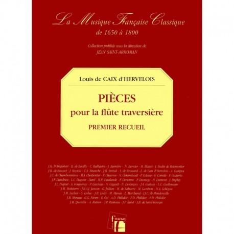 Pièces pour la Flûte traversière avec la Basse.  Paris 1726