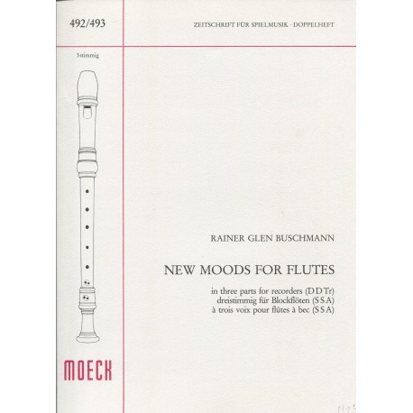 New Moods for Flutes
