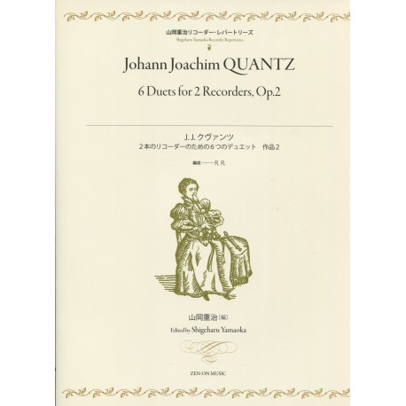Qantz Six Duets for Two Recorder Op.2