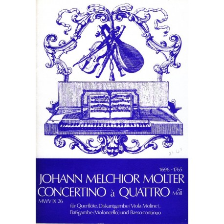 Concertino a Quattro in a minor