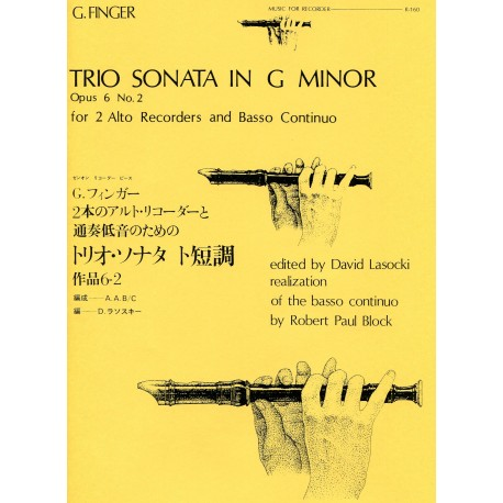 Trio Sonata in G minor Op 6 No 2