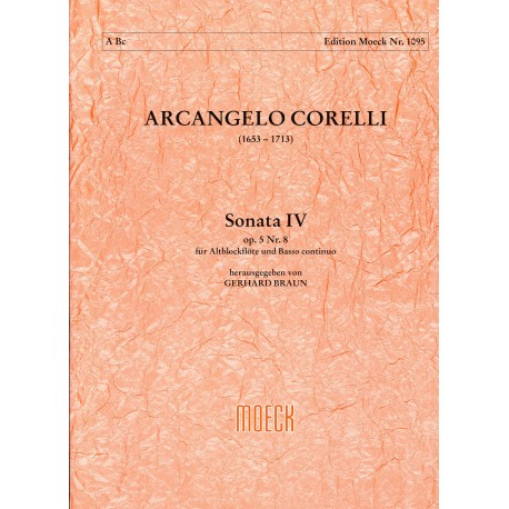 Sonata IV G minor Op 5 No 8