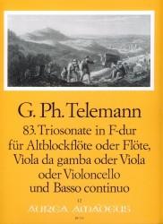 Trio sonata No. 83 in F Major TWV 42F:34