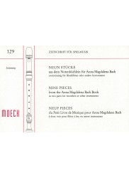 Nine Pieces from the Anna Magdalena Bach Book