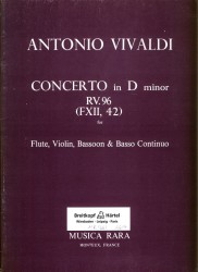 Concerto in d minor RV96, FXII 42