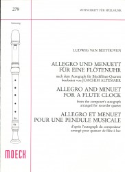 Allegro and Minuet for a Flute Clock