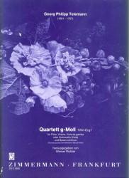 Quartet in g minor TWV 43:g1