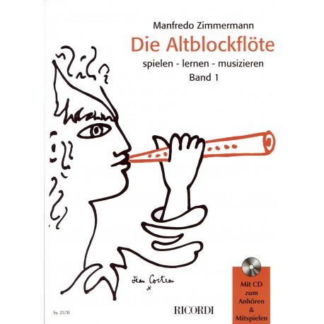 Die Altblockflote Book 1