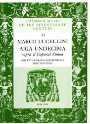 """Aria Undecima sopra """"il Caporal Simon"""""""