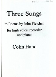 Three Songs to Poems