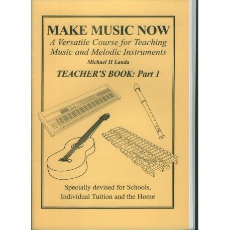 Make Music Now, Teacher's Book