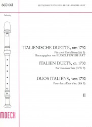 Italien Duets from 1730