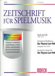 Five Duets from Der Fluyten Lust-Hof