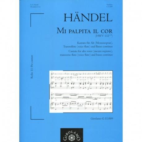 Mia Palpita il Cor, HWV 132