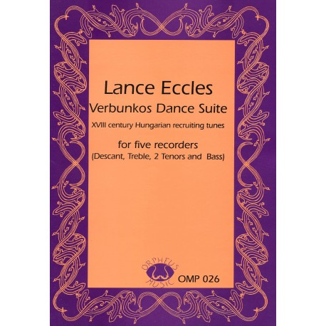 Verbunkos Dance Suite